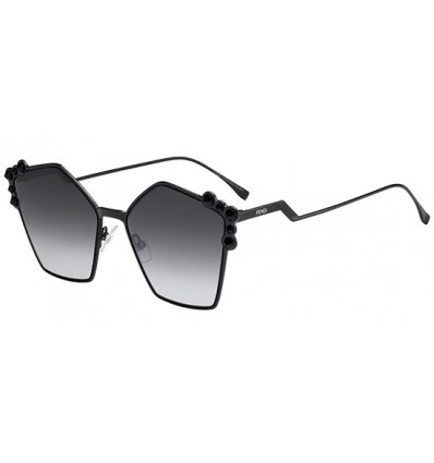 Gafas de sol Fendi Can Eye Black- Grey Shaded