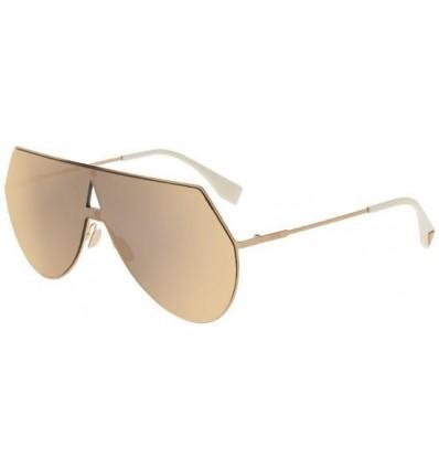 Gafas de sol Fendi Eyeline Rose Gold - Rose Gold Mirror
