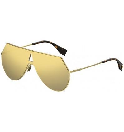 Gafas de sol Fendi Eyeline Gold - Grey Yellow