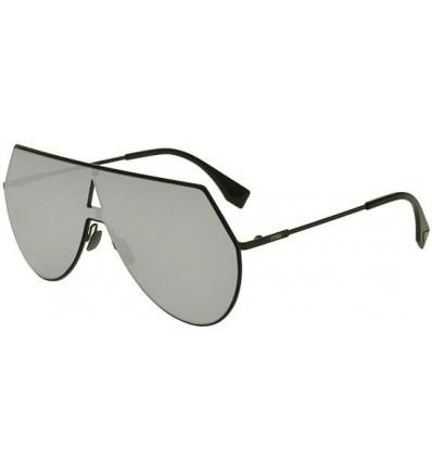 Gafas de sol Fendi Eyeline Matte Black - Silver Mirror