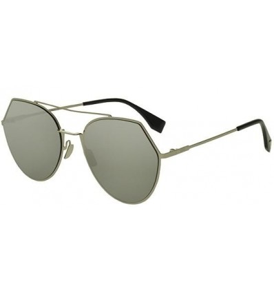 Gafas de sol Fendi Eyeline Light Gold - Grey