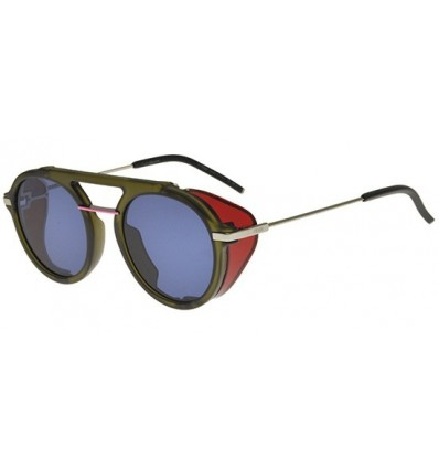 Gafas de sol Fendi Fantastic Olive Green Red - Blue