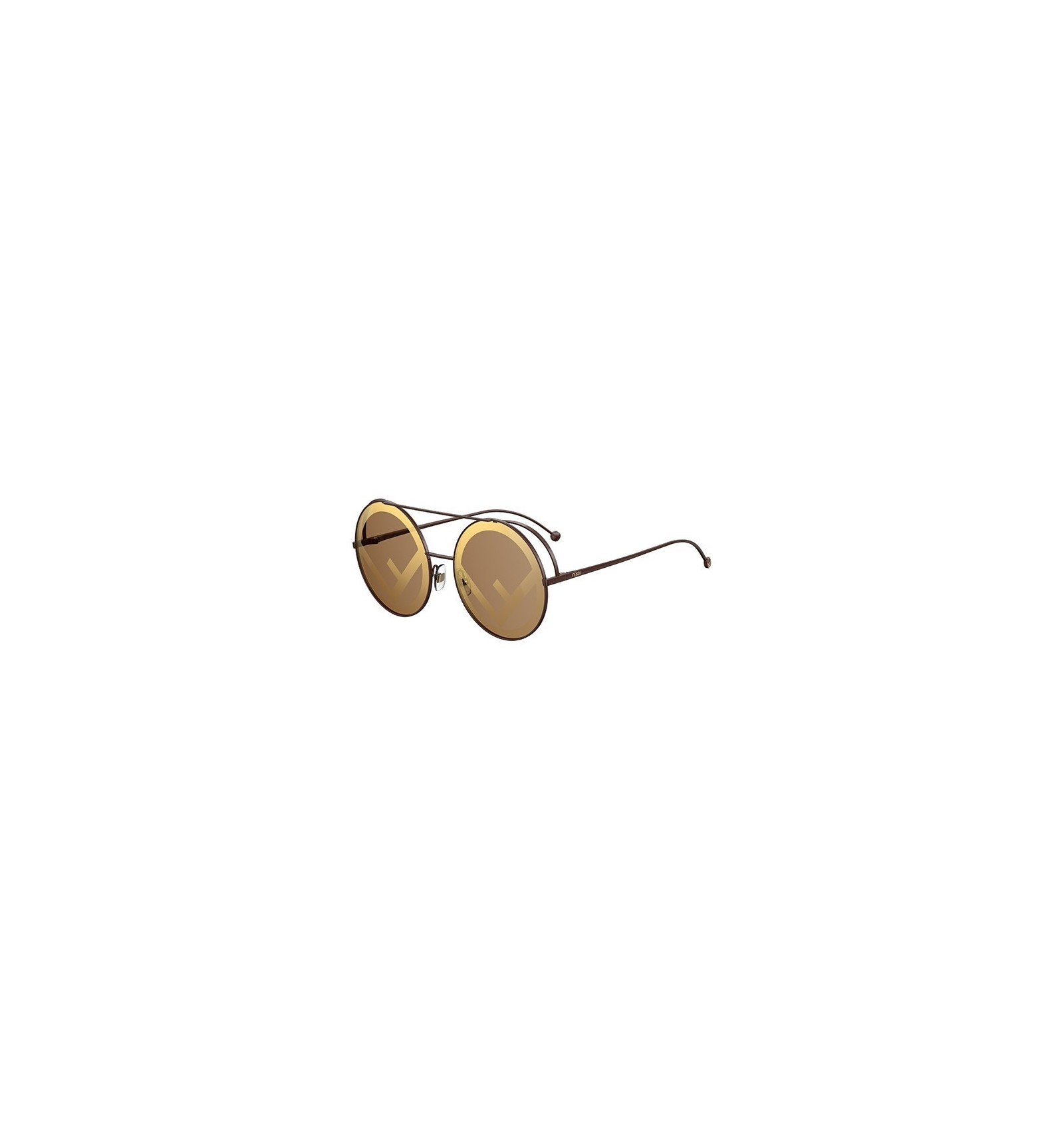 1237d9aab2 Gafas de sol Fendi Run Away Brown - Brown Gold. Compra Online