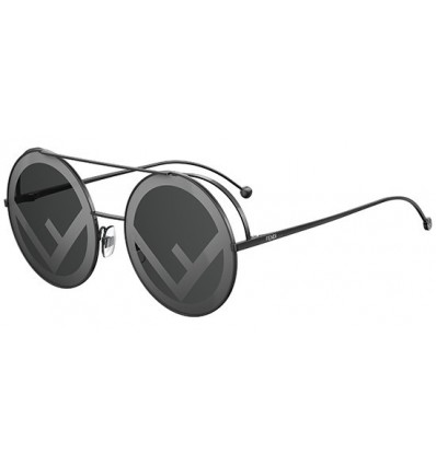 Gafas de sol Fendi Run Away Black - Grey