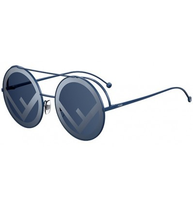 Gafas de sol Fendi Run Away Blue - Grey Blue