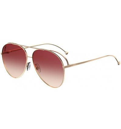 Gafas de sol Fendi Run Away Gold - Dark Pink Shaded