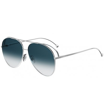 Gafas de sol Fendi Run Away Palladium - Petrol Blue Shaded