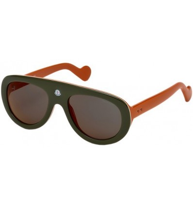 Gafas de Sol Moncler ML0001 Blanche Green Orange - Burgundy (98U)