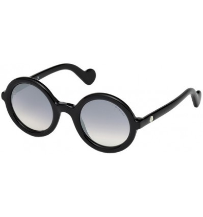 Gafas de Sol Moncler ML0005 Mrs Moncler Shiny Black - Smoke Shaded (01B)