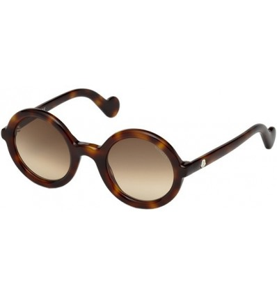 Gafas de Sol Moncler ML0005 Mrs Moncler Dark Havana - Brown Shaded (52F)