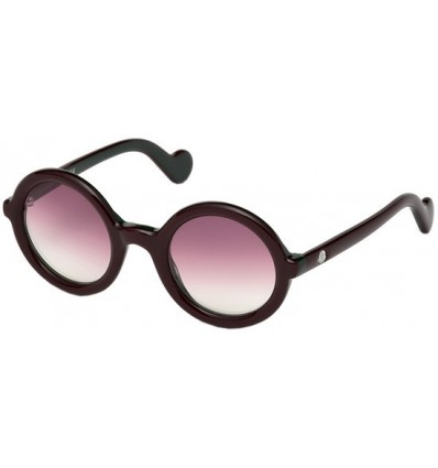 Gafas de Sol Moncler ML0005 Mrs Moncler Burgundy - Burgundy Shaded (71T)