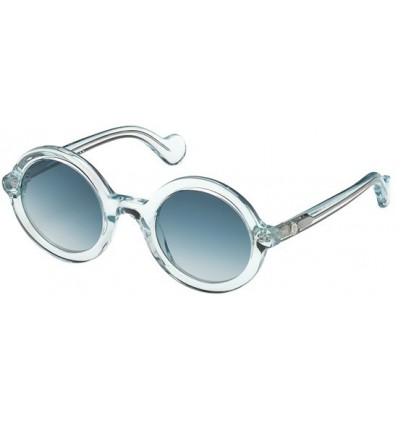 Gafas de Sol Moncler ML0005 Mrs Moncler Shiny Light Blue - Blue Shaded (84W)