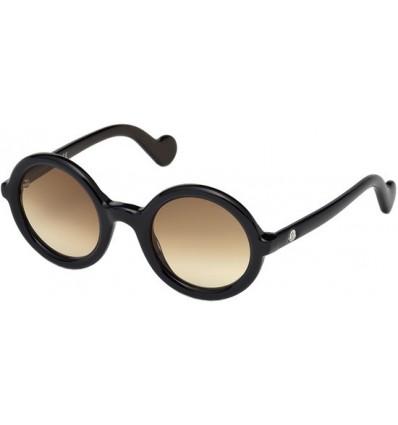 Gafas de Sol Moncler ML0005 Mrs Moncler Blue - Brown Shaded (92F)