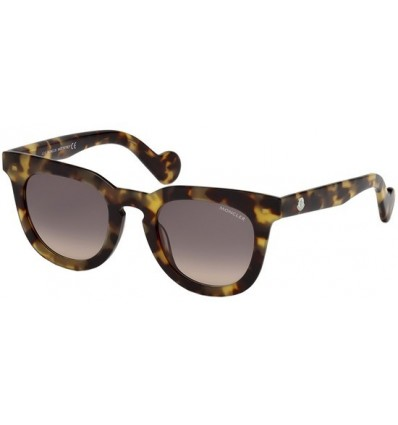 Gafas de Sol Moncler ML0008 Havana - Grey Shaded (53B)