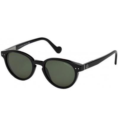 Gafas de Sol Moncler ML0012 Shiny Black - Green (01N)