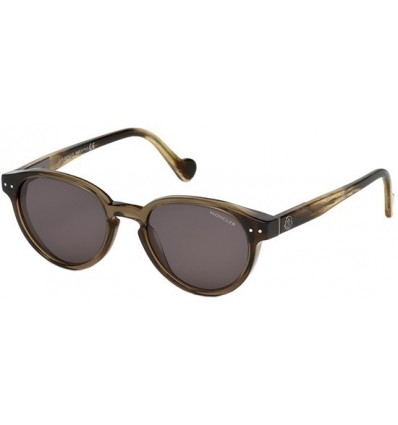 Gafas de Sol Moncler ML0012 Transparent Brown - Smoke (45A)