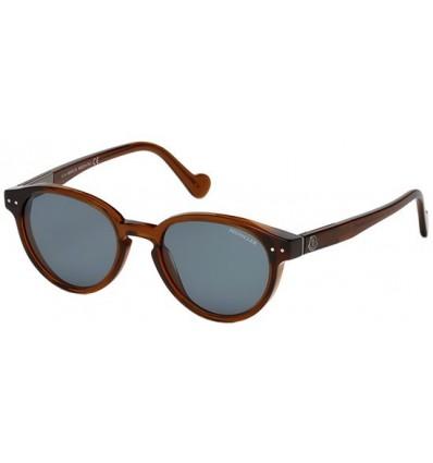Gafas de Sol Moncler ML0012 Transparent Brown - Blue (48V)