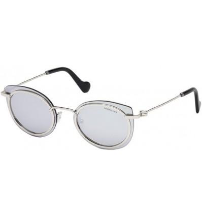 Gafas de Sol Moncler ML0017 Palladium - Smoke (16C)