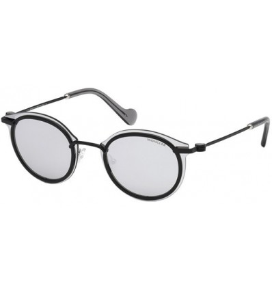 Gafas de Sol Moncler ML0018 Matte Black - Grey (02C)