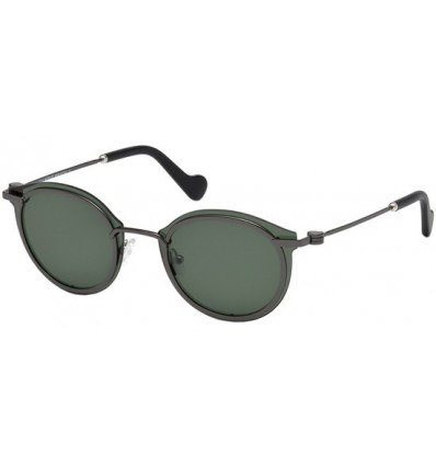 Gafas de Sol Moncler ML0018 Ruthenium - Green (08N)