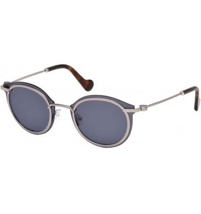 Gafas de Sol Moncler ML0018 Silver - Blue (14V)