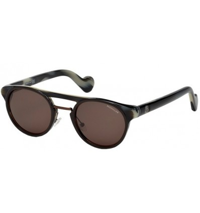 Gafas de Sol Moncler ML0019 Grey Havana - Brown (05E)
