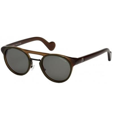 Gafas de Sol Moncler ML0019 Transparent Brown - Green (98N)