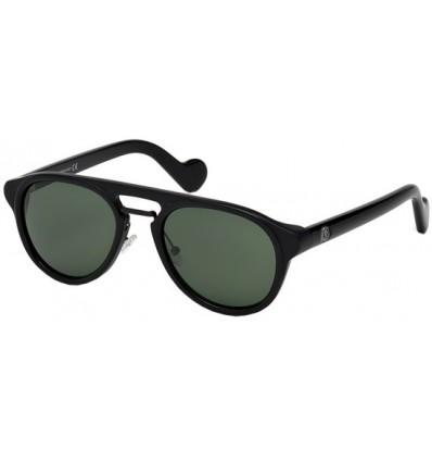 Gafas de Sol Moncler ML0020 Shiny Black - Green (01N A)