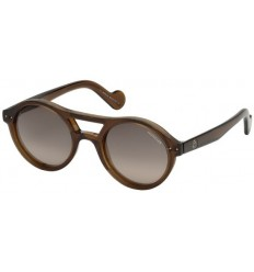 Gafas de Sol Moncler ML0037 Brown - Grey Shaded (51B)