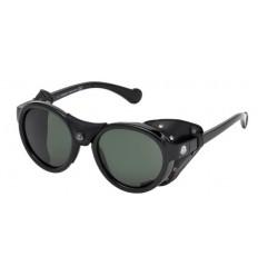 Gafas de Sol Moncler ML0046 Shiny Black - Green (01R)