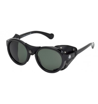 Gafas de Sol Moncler ML0046 Shiny Black - Green (01R)