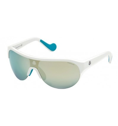Gafas de Sol Moncler ML0049 White - Grey Blue (21C)