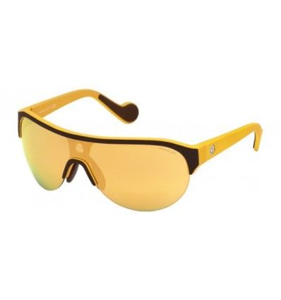 Gafas de Sol Moncler ML0049 Yellow - Brown Yellow (50L)