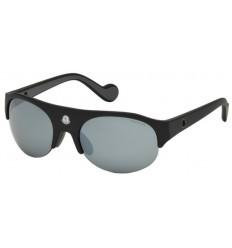 Gafas de Sol Moncler ML0050 Matte Black - Grey (02C)