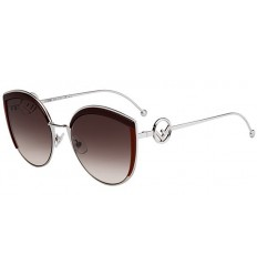 Gafas de sol Fendi F Is Fendi Burgundy - Brown Shaded (LHF-HA)