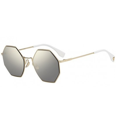 Gafas de sol Fendi Eyeline Gold - Grey Gold (J5G-UE)