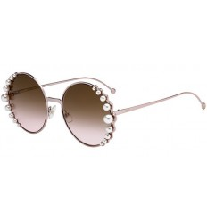 Gafas de sol Fendi Ribbons and Pearls Pink - Brown Pink Shaded (35J-53)