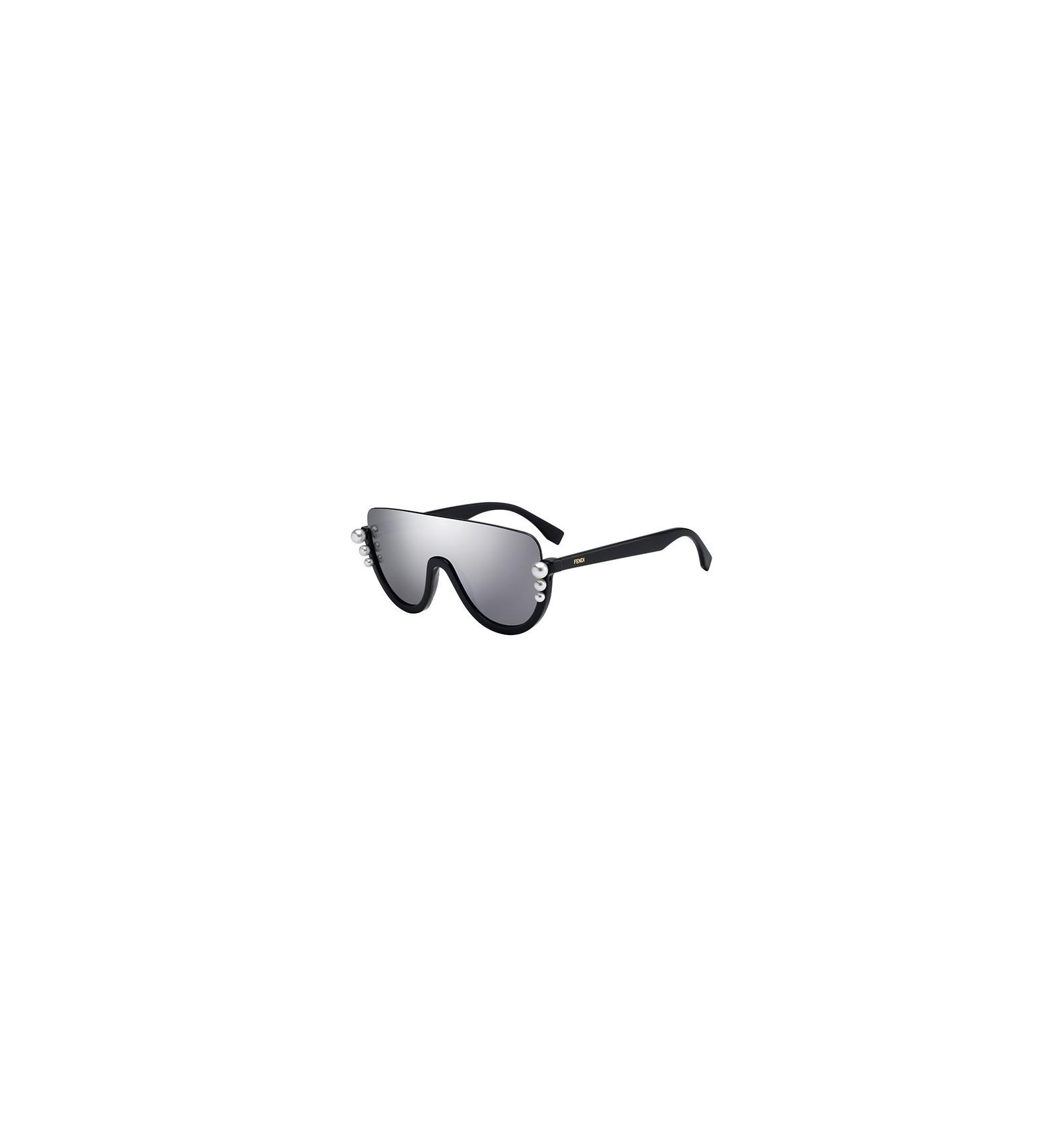 6182fb5980 Gafas de sol Fendi Ribbons and Pearls Black - Grey. Compra Online