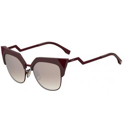 Gafas de sol Fendi Iridia Brown Burgundy - Brown Silver (LHF-NQ)