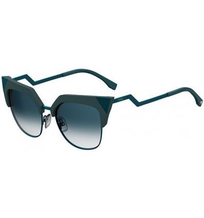 Gafas de sol Fendi Iridia Green - Petrol Blue Shaded (ZI9-08)