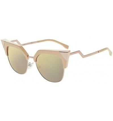 Gafas de sol Fendi Iridia Pink - Grey Gold (Z8C-0J)