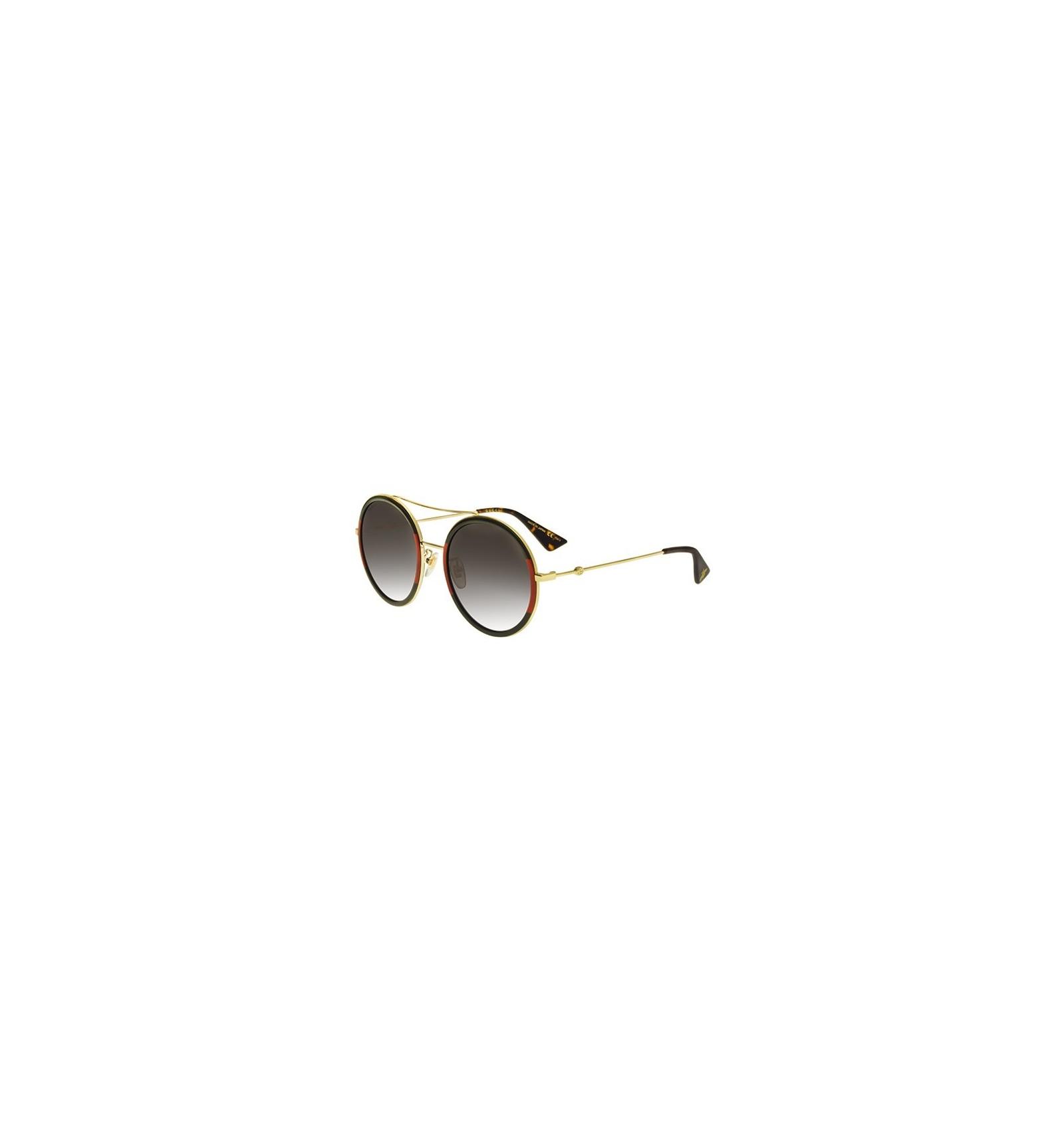 f3d1eb6ec Gafas de Sol GUCCI GG0061S Red Striped Green Gold - Grey Shaded (003)