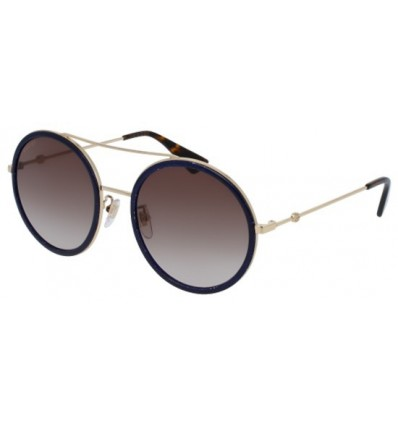 Gafas de Sol GUCCI GG0061S Glitter Blue - Brown Shaded (005)