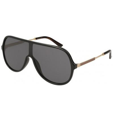 Gafas de Sol GUCCI GG0199S Black Gold - Grey (001)