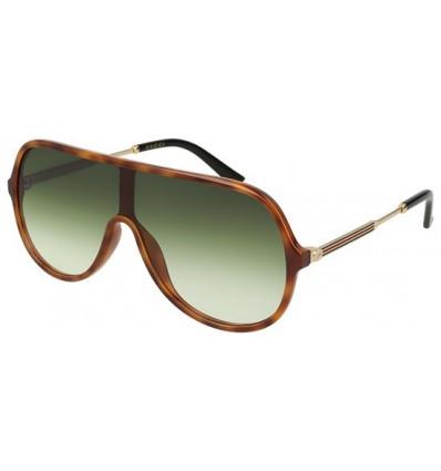 Gafas de Sol GUCCI GG0199S Havana - Green Shaded (004)