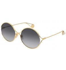 Gafas de Sol GUCCI GG0253S Gold - Grey Shaded (001)