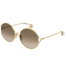 Gafas de Sol GUCCI GG0253S Gold - Brown Shaded (002)