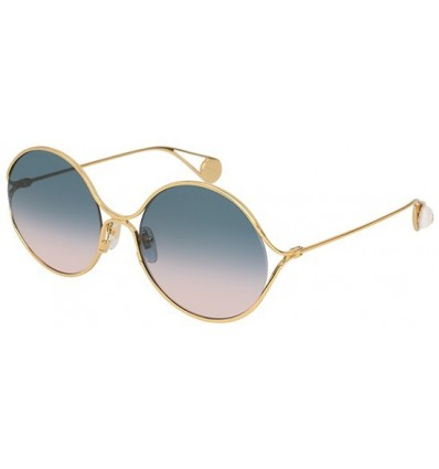 Gafas de Sol GUCCI GG0253S Gold - Blue Shaded (003)
