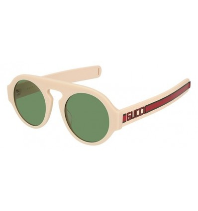 Gafas de Sol GUCCI GG0256S Ivory - Green (003)
