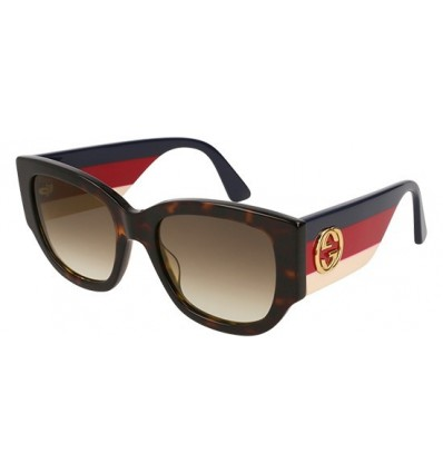 Gafas de Sol GUCCI GG0276S Havana - Brown Shaded (002)